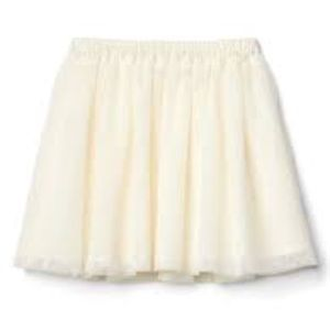 Gap tulle flippy skirt